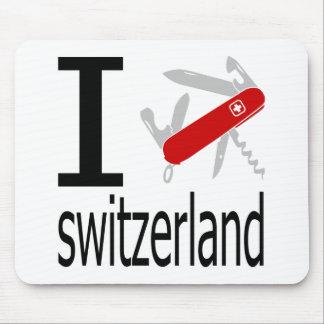 I Heart Switzerland Mouse Pad