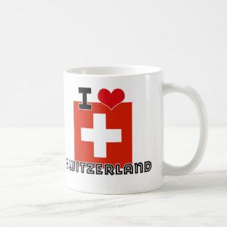 I HEART SWITZERLAND MUGS