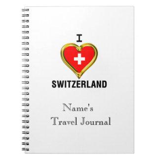 I HEART SWITZERLAND NOTEBOOK