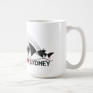 I HEART SYDNEY 2 CLASSIC WHITE COFFEE MUG