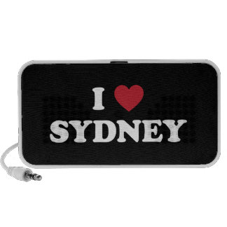 I Heart Sydney Australia PC Speakers