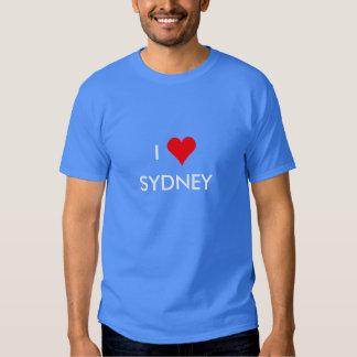 i heart sydney t shirt