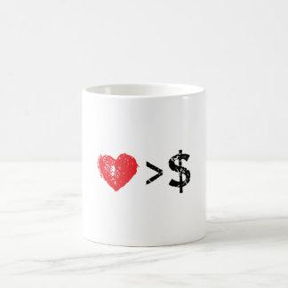 I heart t coffee mug