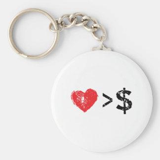 I heart t key chains