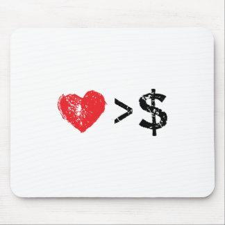I heart t mousepads
