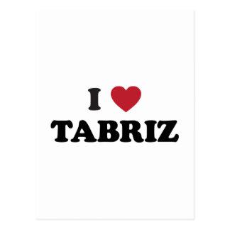 I Heart Tabriz Iran Postcard