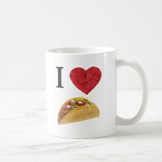i heart tacos coffee mug