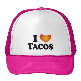 I (heart) Tacos - Lite Multi-Products Mesh Hats