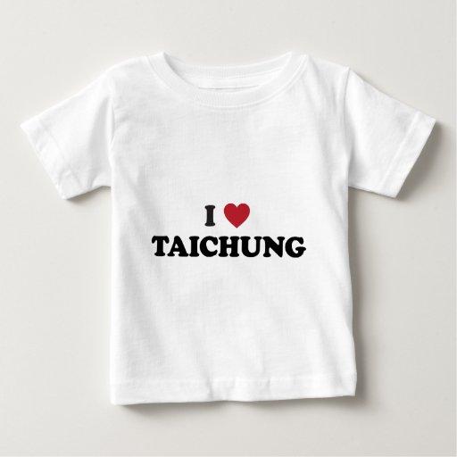 I Heart Taichung Taiwan Tee Shirts
