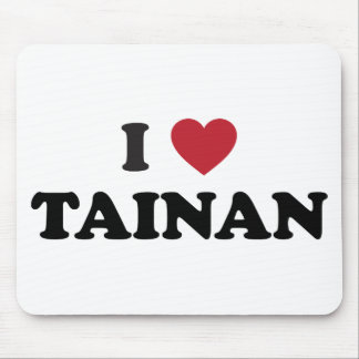 I Heart Tainan Taiwan Mouse Pad