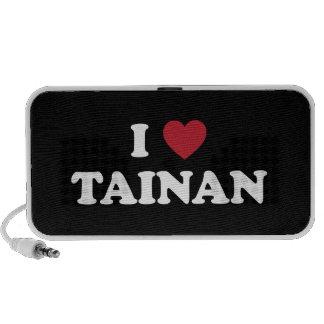 I Heart Tainan Taiwan Mp3 Speakers