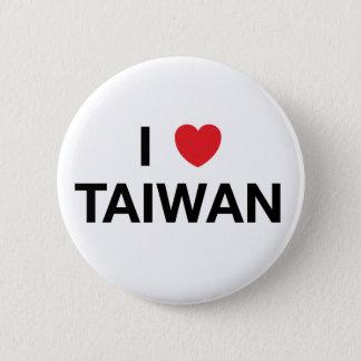 I HEART TAIWAN Badge Pin
