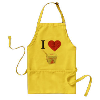 i heart takeout aprons
