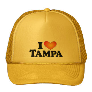 I (heart) Tampa - Lite Multi-Products Mesh Hat