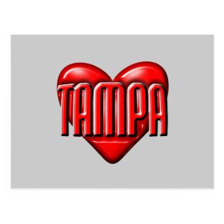 I Heart Tampa Postcard