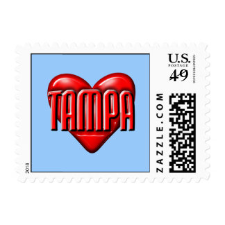I Heart Tampa Stamp