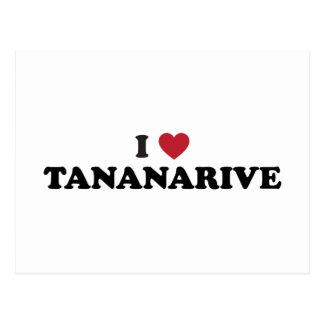 I Heart Tananarive Madagascar Postcard