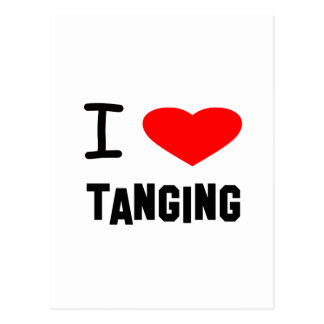 I Heart tanging Post Card