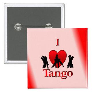 I Heart Tango Pinback Button
