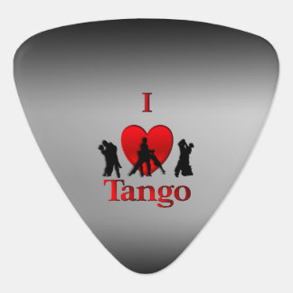 I Heart Tango Guitar Pick