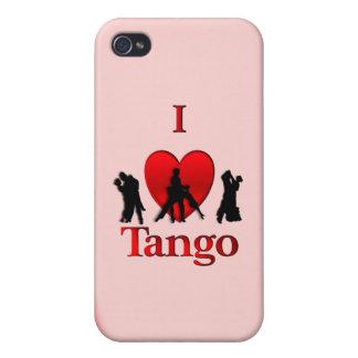 I Heart Tango iPhone 4 Cover