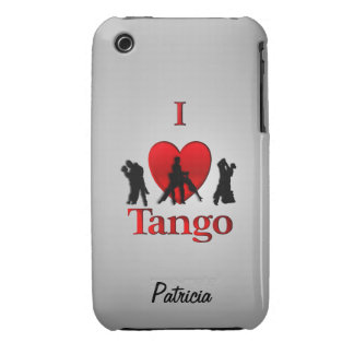 I Heart Tango Personalized Case-Mate iPhone 3 Cases