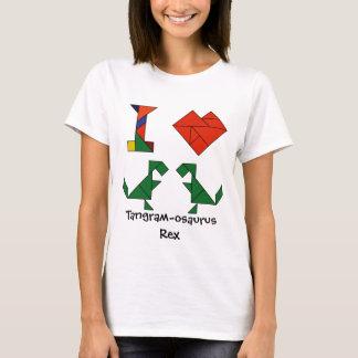 I Heart Tangram-osaurus Rex T-Shirt