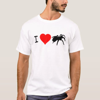 I Heart Tarantulas Loose Fit (White) T-Shirt