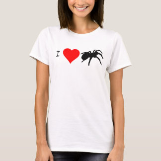 I Heart Tarantulas T-shirt (White)