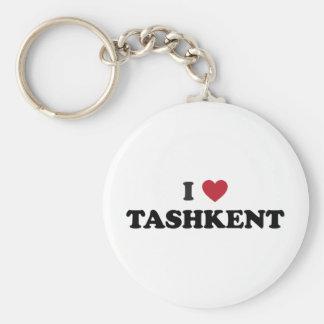 I Heart Tashkent Uzbekistan Basic Round Button Keychain