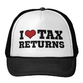 I Heart Tax Returns Trucker Hat