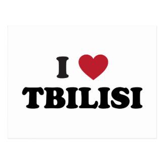 I Heart Tbilisi Georgia Postcard