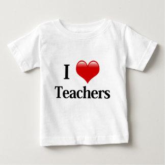 I Heart Teachers Baby T-Shirt
