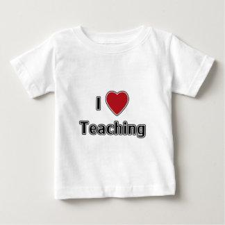 I Heart Teaching Baby T-Shirt