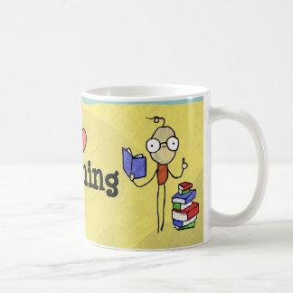 I Heart Teaching Boy Mug