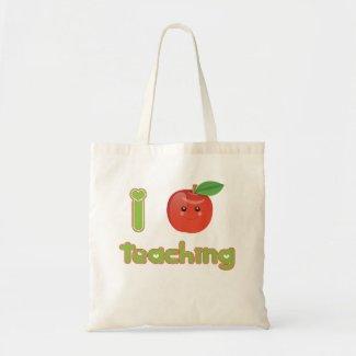 I Heart Teaching - Eco Bag bag
