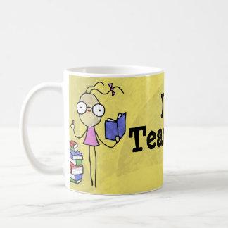 I Heart Teaching Girl Mug