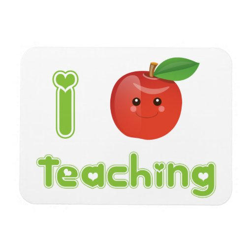 I Heart Teaching - Magnet