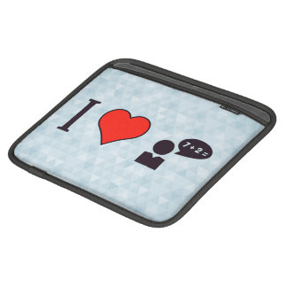 I Heart Teaching Mathematics iPad Sleeve