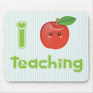 I Heart Teaching - Mousepad
