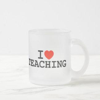 I Heart Teaching Coffee Mugs