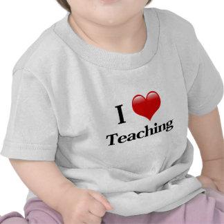 I Heart Teaching T Shirts