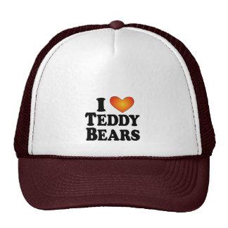I (heart) Teddy Bears - Lite Multi-Products Mesh Hats