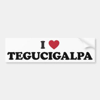 I Heart Tegucigalpa Honduras Bumper Stickers