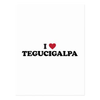 I Heart Tegucigalpa Honduras Post Card