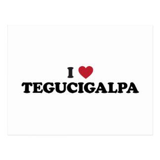 I Heart Tegucigalpa Honduras Postcard