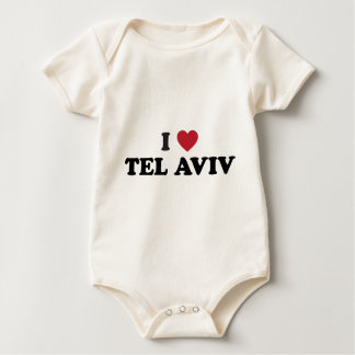 I Heart Tel Aviv Israel Baby Creeper