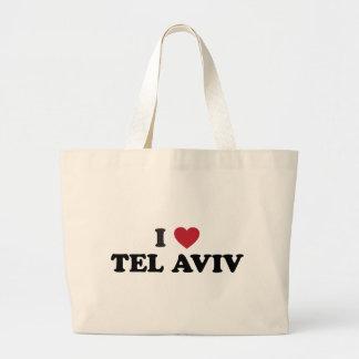 I Heart Tel Aviv Israel Tote Bags