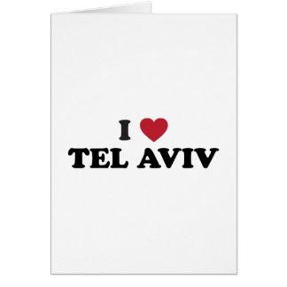 I Heart Tel Aviv Israel Card