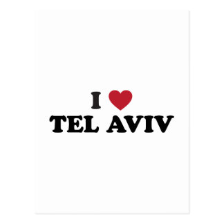 I Heart Tel Aviv Israel Postcard